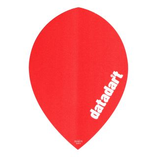 Datadart CMF - Pear - Plain Red Dart Flights - F1434