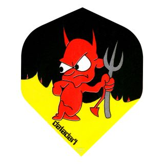 Datadart Metronic - Standard - Devil Dart Flights - F1462