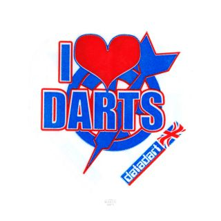 Datadart Metronic - Standard - I Love Darts Dart Flights - F1467