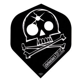 Datadart Metronic - Standard - Skull Dart Flights - F1471