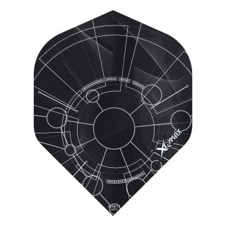 XQMax Max Flights - Dart Flights - No2 Standard  - Velocity - F1489
