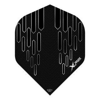 XQMax Max Flights - Dart Flights - No2 Standard  - Contour - Black - F1493