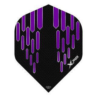 XQMax Max Flights - Dart Flights - No2 Standard  - Contour - Purple - F1498