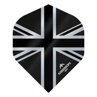 Mission Alliance Union Jack 150 - No 2 Standard - Black Dart Flights - F1610