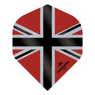 Mission Alliance-X - Union Jack 150 - No 2 Standard - Red with Black Dart Flights - F1616