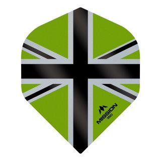 Mission Alliance-X - Union Jack 150 - No 2 Standard - Green with Black Dart Flights - F1617