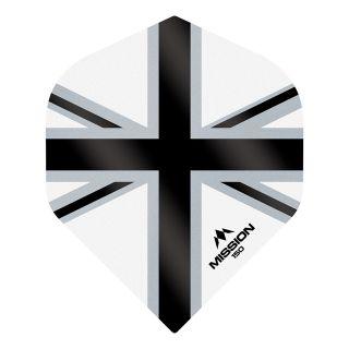 Mission Alliance-X - Union Jack 150 - No 2 Standard - White with Black Dart Flights - F1618