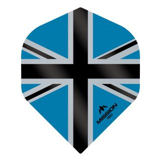 Mission Alliance-X - Union Jack 150 - No 2 Standard - Blue with Black Dart Flights - F1619
