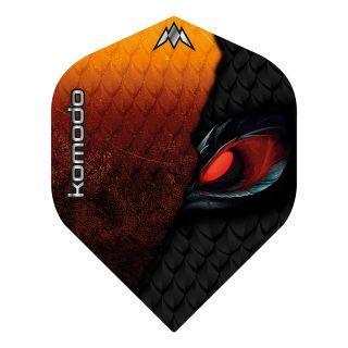 Mission Solo - Komodo - No 2 Standard - 100 Micron - Dart Flights - F1676