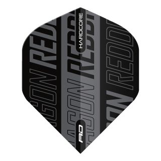 Hardcore XT Black and Grey Standard Dart Flights – F1681