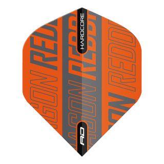 Hardcore XT Orange and Black Standard Dart Flights – F1682