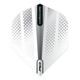 Hardcore Radical Silver Flash Standard Dart Flights – F1685