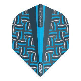 Hardcore Radical Blue Rope Standard Dart Flights – F1694