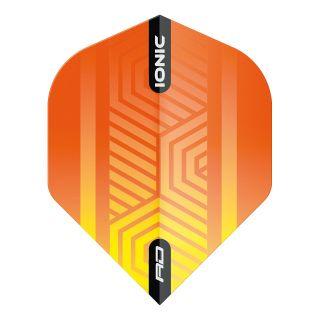 Hardcore Ionic Orange Standard Dart Flights – F1696