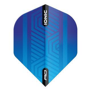 Hardcore Ionic Blue Standard Dart Flights – F1697