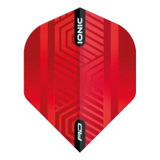Hardcore Ionic Red Standard Dart Flights – F1699