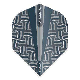 Hardcore Radical Grey Rope Print Standard Dart Flights – F1704