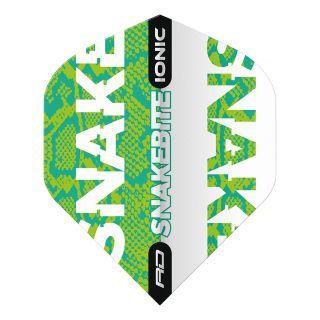 Hardcore Ionic Snakebite Green Standard Dart Flights – F1706