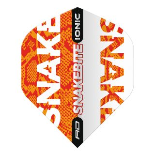 Hardcore Ionic Snakebite Orange Standard Dart Flights – F1707