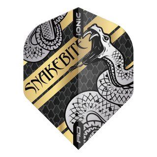 Hardcore Snakebite Coiled Snake Gold Standard Dart Flights – F1710