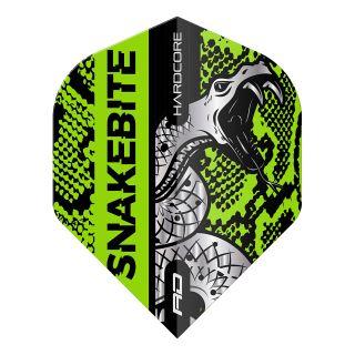 Hardcore Snakebite Coiled Snake Green Standard Dart Flights – F1714