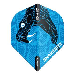 Hardcore Ionic Snakebite Blue Head Standard Dart Flights – F1716