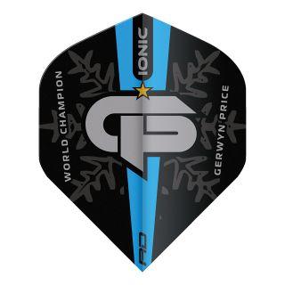 Gerwyn Price World Champion Blue Logo Edition - Standard Dart Flights – F1732