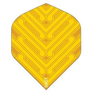 Shot - Manu No2 Yellow Standard Dart Flights  - F1797