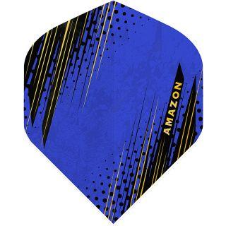 Amazon Oro - No2 Standard Dart Flights - Blue -  F1800