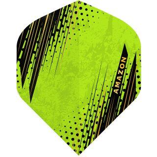 Amazon Oro - No2 Standard Dart Flights - Green -  F1801