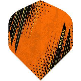 Amazon Oro - No2 Standard Dart Flights - Orange -  F1802