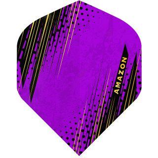 Amazon Oro - No2 Standard Dart Flights - Purple -  F1804