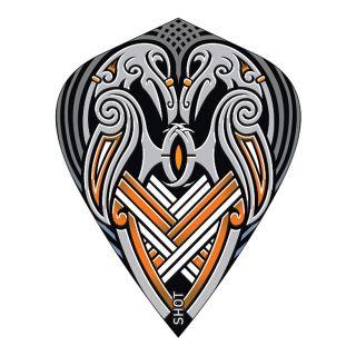 Shot - Viking Raven Black Kite Dart Flights  - F1810
