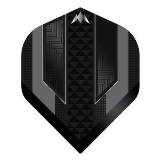 Mission - Temple - No 2 Standard - 100 Micron - Black - Dart Flights