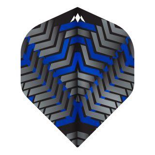Mission - Vex - No 2 Standard - 100 Micron - Black/Blue - Dart Flights