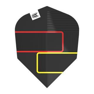 Clemens Black Pro.Ultra No6 Shape Dart Flights