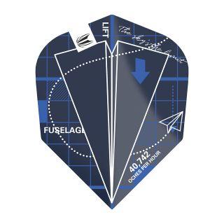 Blueprint Pro.Ultra Blue No6 Shape Dart Flights