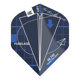 Blueprint Pro.Ultra Blue No2 Standard Dart Flights