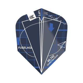 Blueprint Pro.Ultra Blue TEN-X Dart Flights