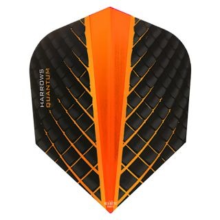 Harrows Quantum Orange Dart Flights - F0419