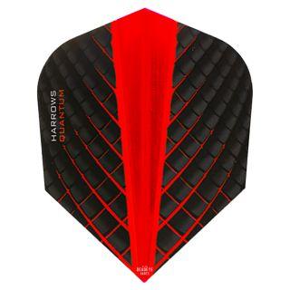 Harrows Quantum Red Dart Flights - F0422