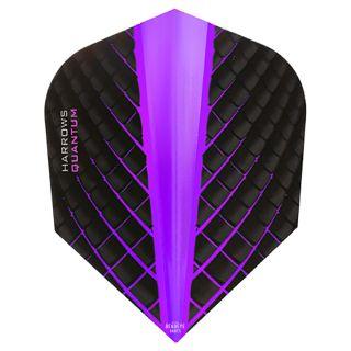 Harrows Quantum Purple Dart Flights - F0437