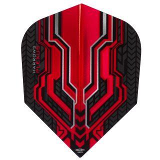 Harrows Plexus Red Dart Flights - F0456