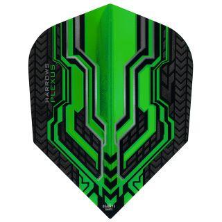 Harrows Plexus Green Dart Flights - F0458
