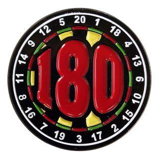 Darts Pin Badges -Enamel Pin Badge - Large - 180 - M0001