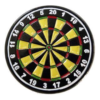 Darts Pin Badges -Enamel Pin Badge - Colour Dartboard - M0002