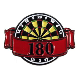 Darts Pin Badges -Enamel Pin Badge - Banner - 180 - M0003