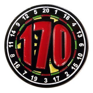 Darts Pin Badges -Enamel Pin Badge - Large - 170 - M0005