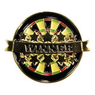 Darts Pin Badges -Enamel Pin Badge - Stars - Winner - M0006
