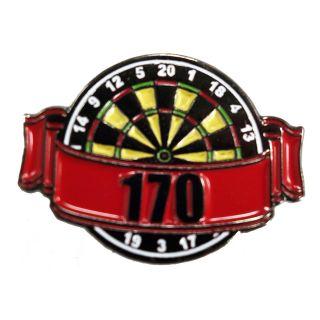Darts Pin Badges -Enamel Pin Badge - Banner - 170 - M0007